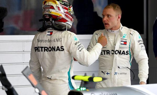 Hamilton: Bottas si je zaslužil zmago