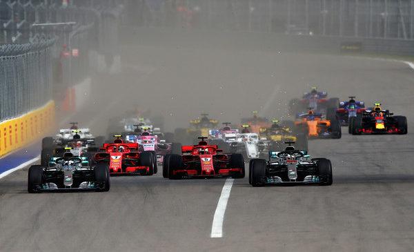 Bottas prepustil zmago Hamiltonu v Sočiju