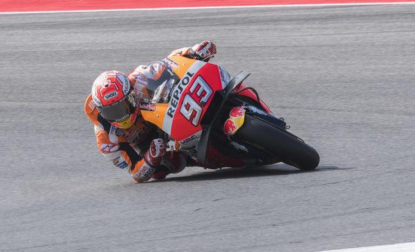 Marquez najhitrejši na ogrevanju