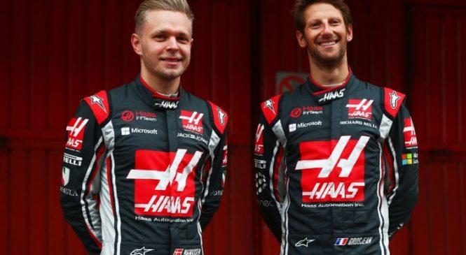 Magnussen in Grosjean ostajata pri Haasu tudi v naslednji sezoni