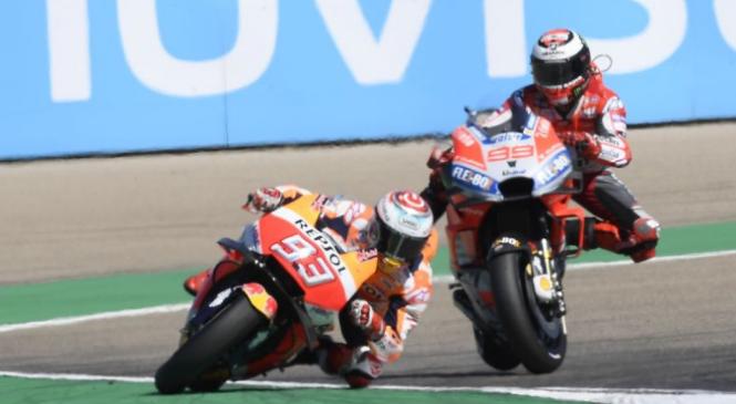 Lorenzo jezen na Marqueza, nastop na Tajskem pod vprašajem