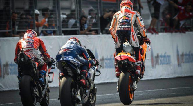 Marquezu zmaga na premierni dirki na Tajskem