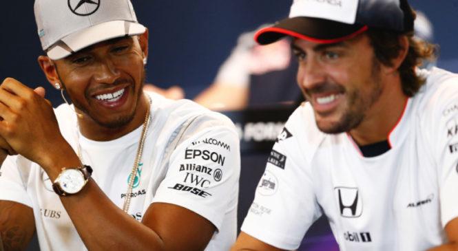 Alonso: Hamilton je eden najboljših vseh časov