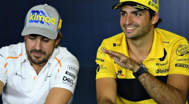 Sainz: Odhod Alonsa mora izučiti F1