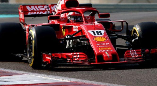 Drugi dan na vrhu Leclerc