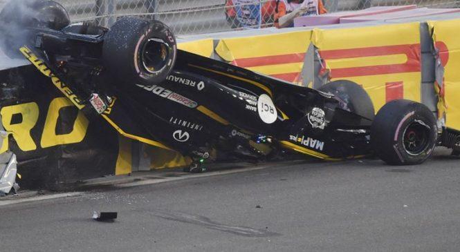 Hulkenberg zaradi mrtvega kota ni mogel videti Grosjeana