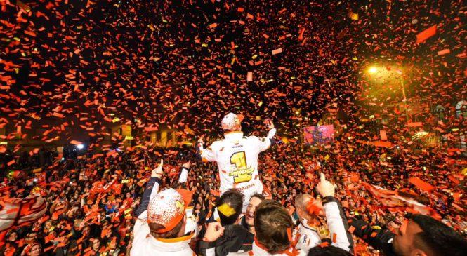 Marquez doma proslavil naslov