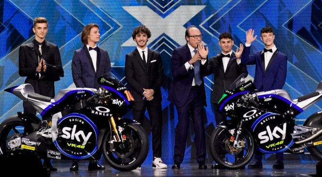 SKY na X-Faktorju predstavil svoja motocikla