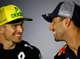 Hulkenberg: Premagati Ricciarda bo velik izziv