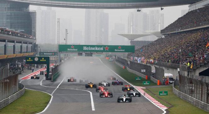 Se obeta še ena dirka na Kitajskem ?