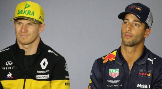 Ricciardo: Hulkenberg bo zahteven nasprotnik