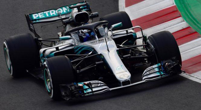 Mercedes prvič na stezo 13.2.2019