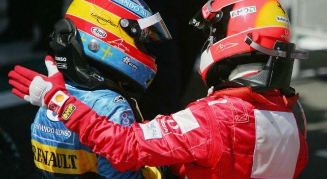 Alonso najbolj ceni Schumacherja