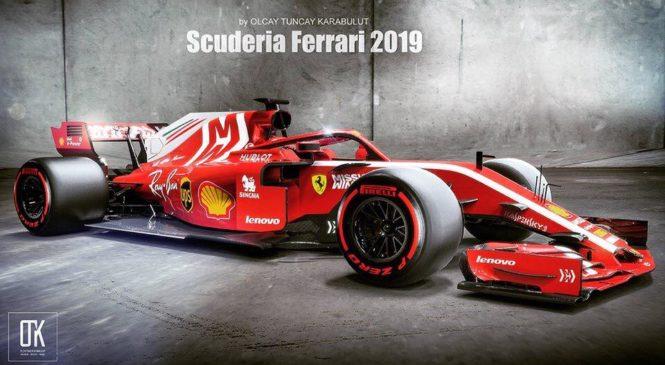 Ferrarijev dirkalnik letošnje sezone