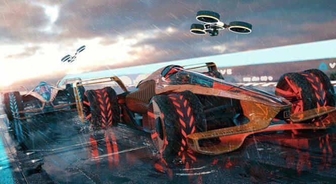 VIDEO: McLarnov koncept Formule ena v sezoni 2050