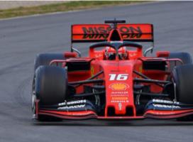 Dopoldne na vrhu Leclerc