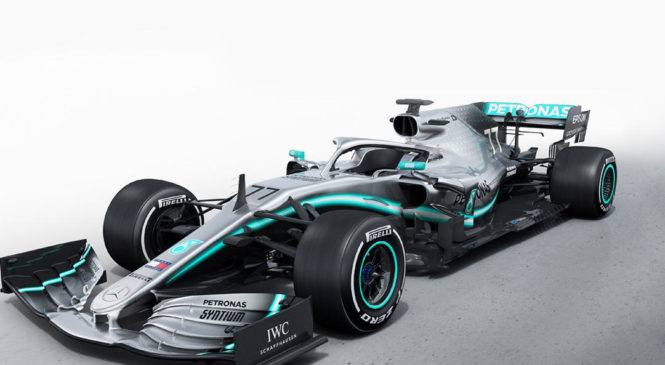 Mercedes predstavil letošnji dirkalnik