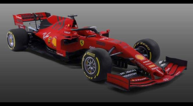 To je letošnji Ferrari SF90