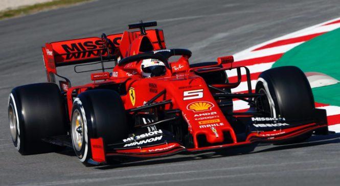 Vettel tudi popoldne ostal na vrhu