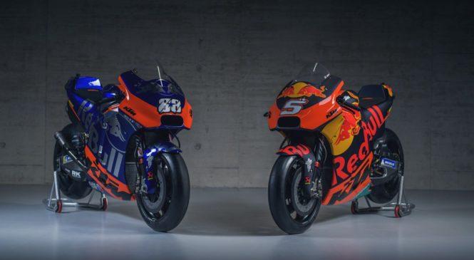 KTM, Tech 3 predstavila svoja motocikla