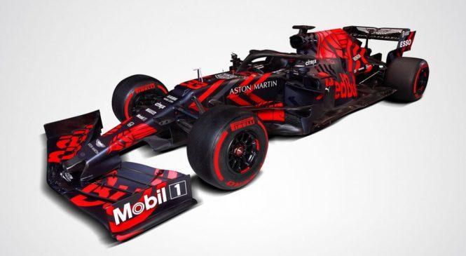 Red Bull presenetil z novo barvno podobo