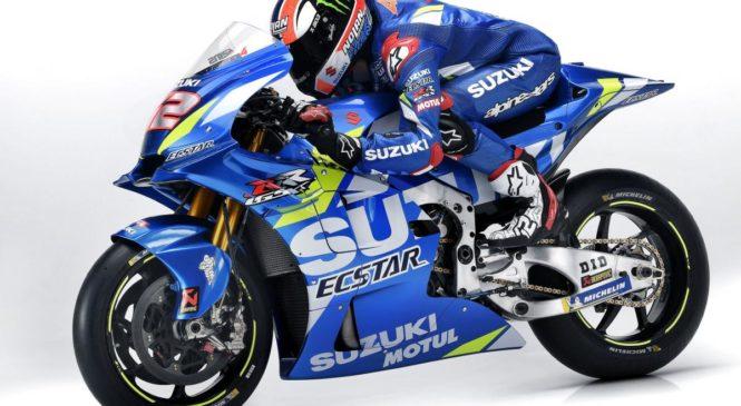Suzuki predstavil nespremenjene moštvene barve