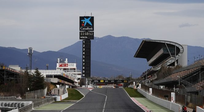 Znan razpored dirkačev za testiranja