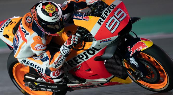 FOTO: Lorenzo znova na motorju