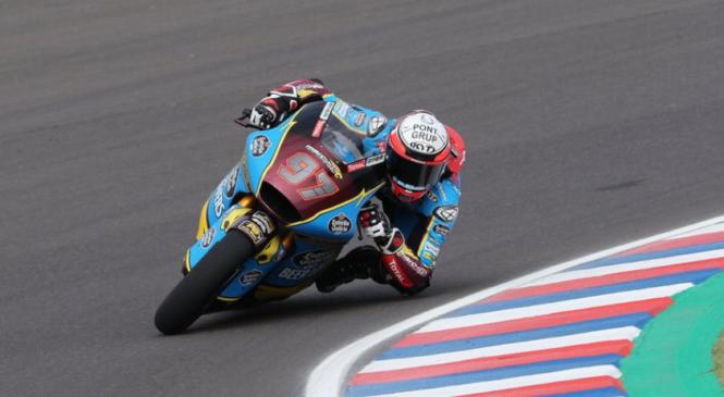 Vierge dobil kvalifikacije razreda Moto 2