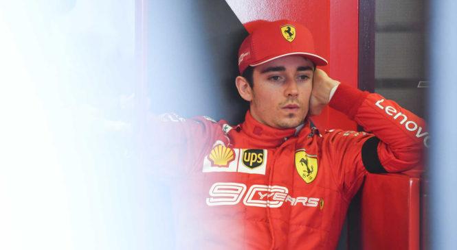 Leclerc: V zadnjem delu sem razočaral
