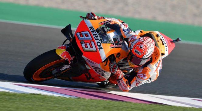 Marquez ponovno na vrhu, Rossi, Lorenzo v Q1