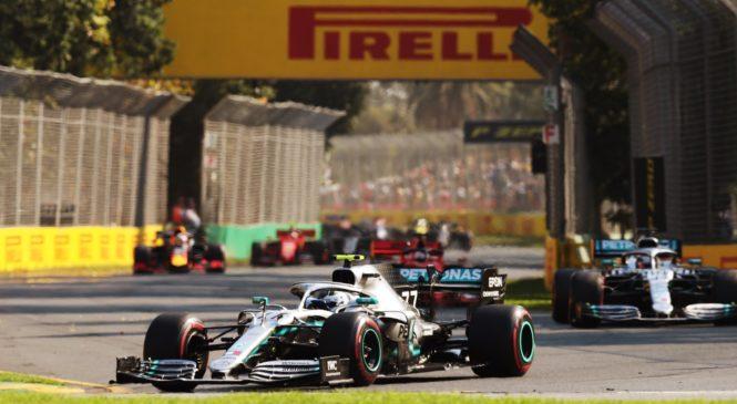 Vettel: Hamilton se je vdal, ko ga je prehitel Bottas