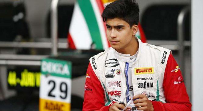 Correa razvojni dirkač Alfa Romeo
