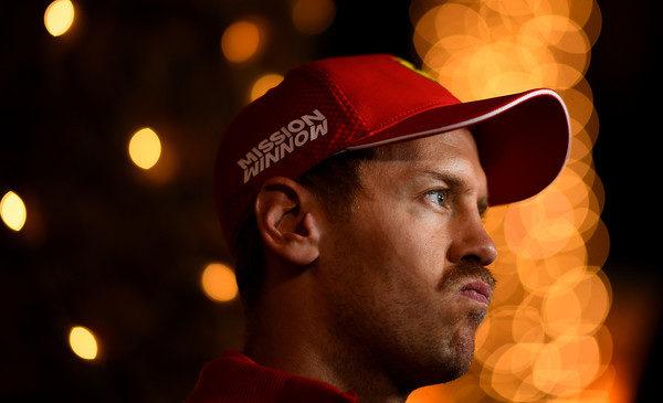 Vettel prevzel krivdo za napako