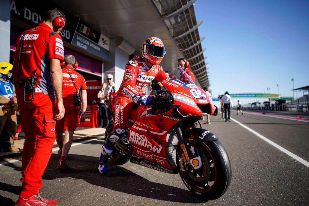 Andrea Dovizioso (Ducati) bo v Argentini testiral nove rešitve