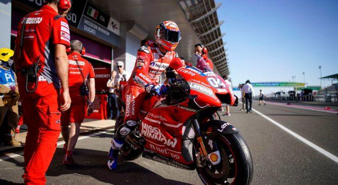 """Ducati za dirko v Argentini pripravil """"nove rešitve"""""""