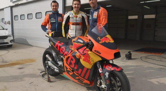 VIDEO: KTM-ovo MotoGP moštvo testiralo na Grobniku