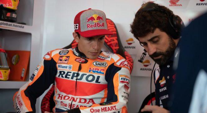 Marquez zadovoljen, kljub osmem mestu na treningu