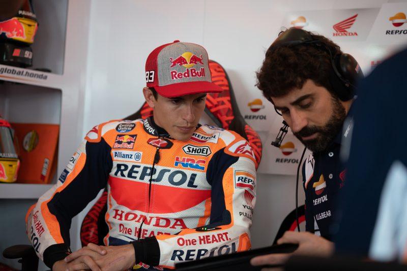 MotoGP: Marc Marquez je zadovoljen kljub osmemu času petkovih treningov