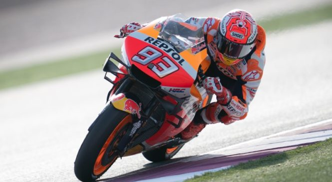 Marquez z velikim naskokom dobil prvi trening