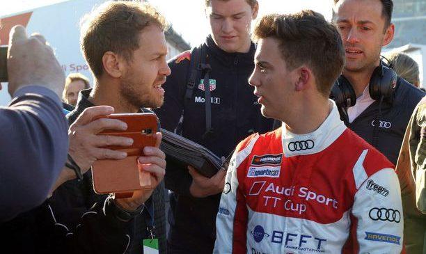 Vettlov brat bo dirkal za Mercedes