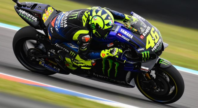 Rossi: Vozil sem kot v mladih letih