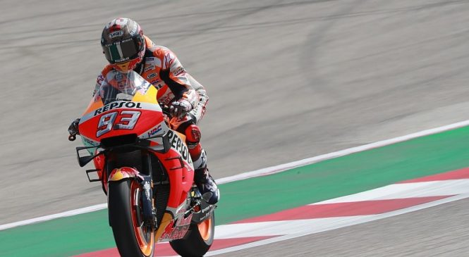 Marquez občutil razliko z novim Hondinim krilcem