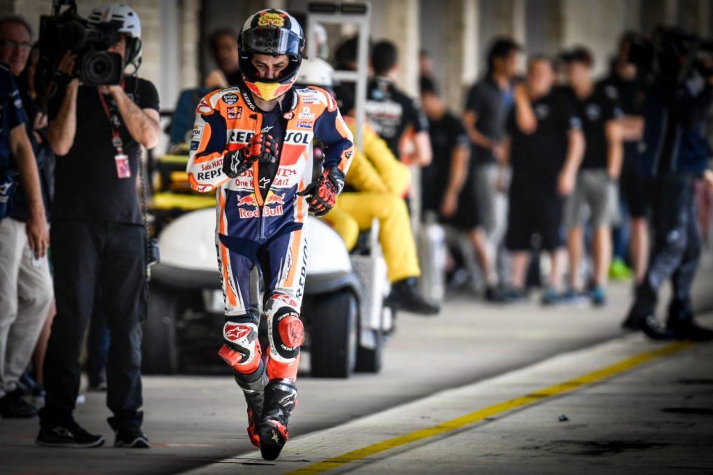MotoGP: Jorge Lorenzo je moral teči v bokse