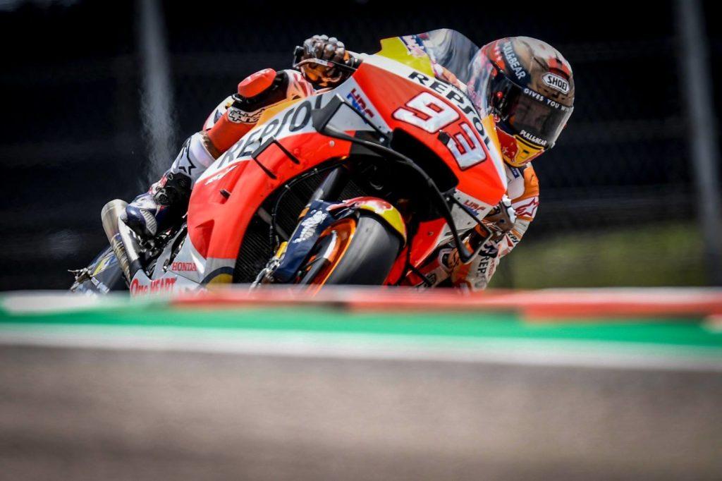 MotoGP: Marc Marquez je bil najhitejši na ogrevanjih pred dirko v Austinu 2019