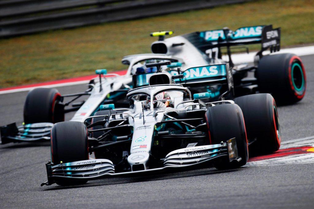 Formula 1: Lewis Hamilton je priznal, da je Valtteri Bottas v Šanghaju hitrejši
