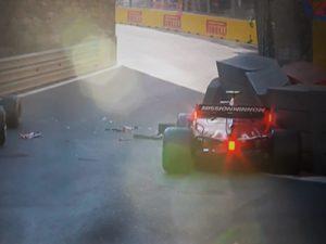 F1: Charles Leclerc obžaluje napako v Bakuju, ki ga je stala pole positiona