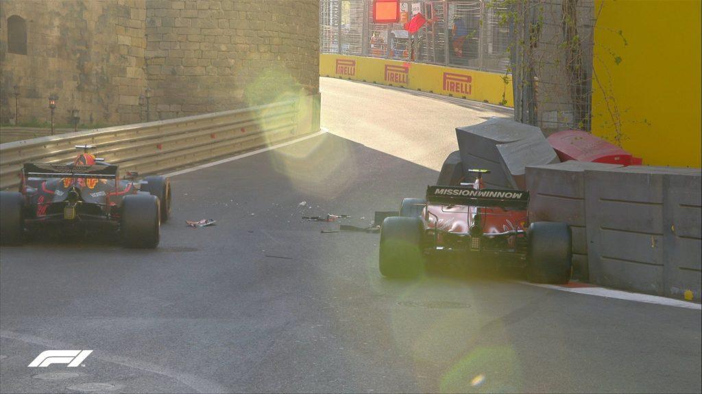 Formula 1: Charles Leclerc po trčenju v zid izpadel iz kvalifikacij