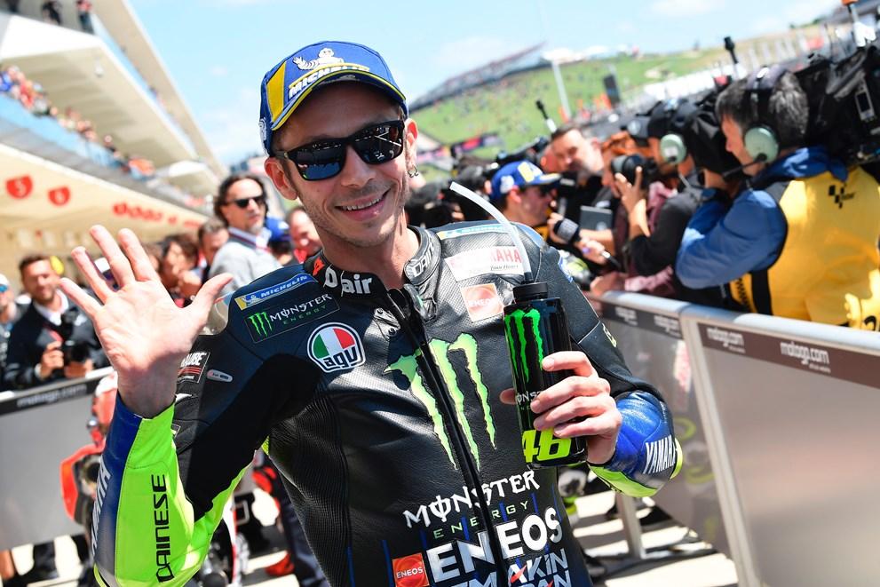 MotoGP: Valentino Rossi je priznal, da je bil Alex Rins pač boljši od njega