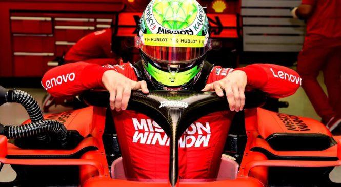 Legendarna naveza Schumacher – Ferrari znova na stezi